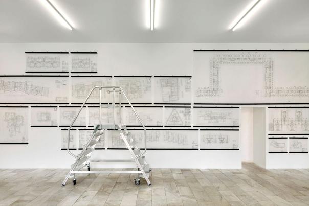 «Aus dem Archiv der Grundrisse», Architektur Galerie Berlin 2014