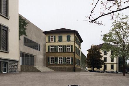 Oberstufenschulhaus <br/>Reben