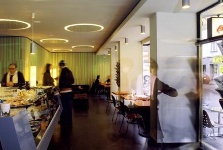 """Umbau <br/>Café-Bar """"Plüsch"""""""