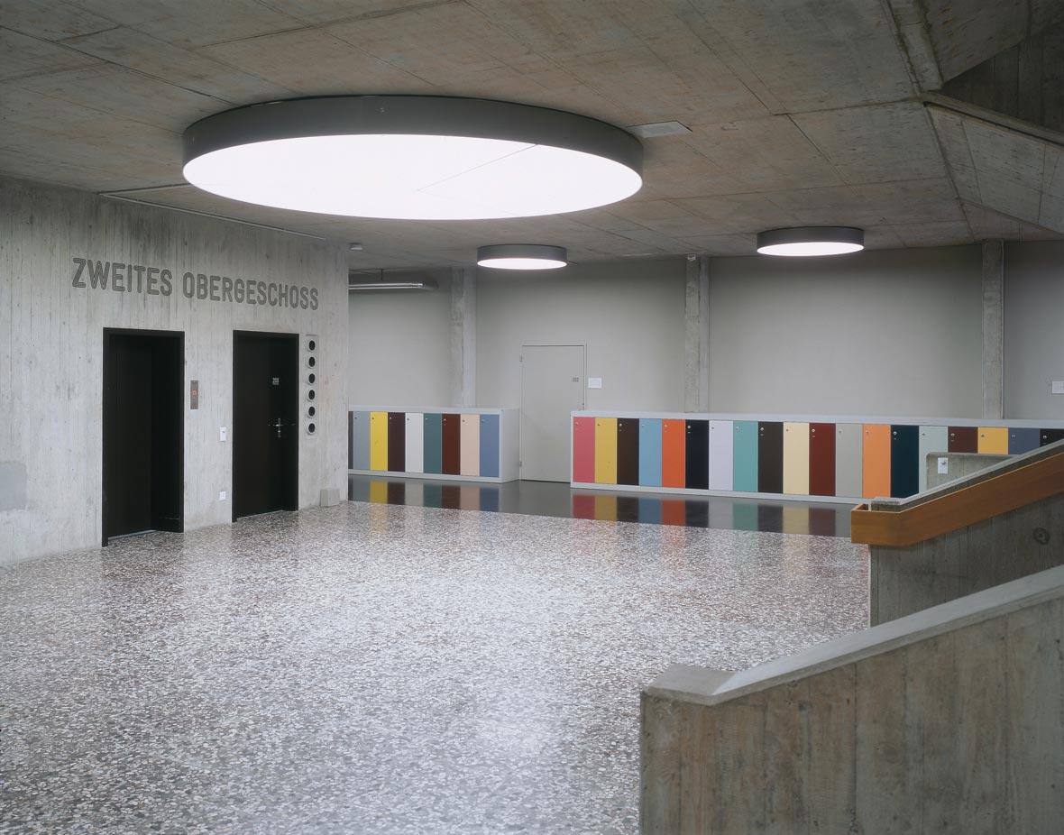 Halle 2. Obergeschoss