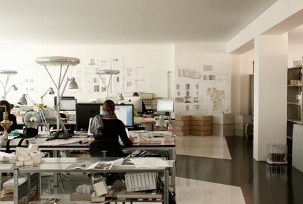 Innenausbau Büro pool