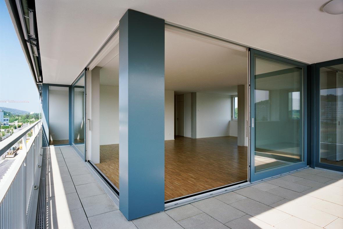 Loggia Bilder loggia pool architekten zürich
