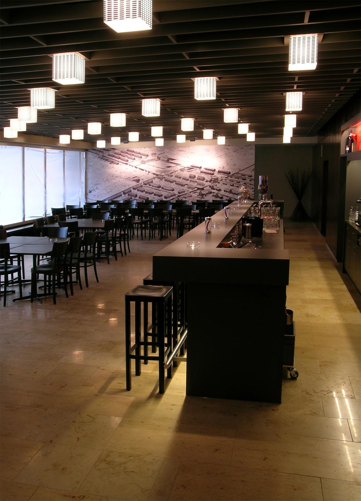 Restaurant, Wandbild Chalet 5