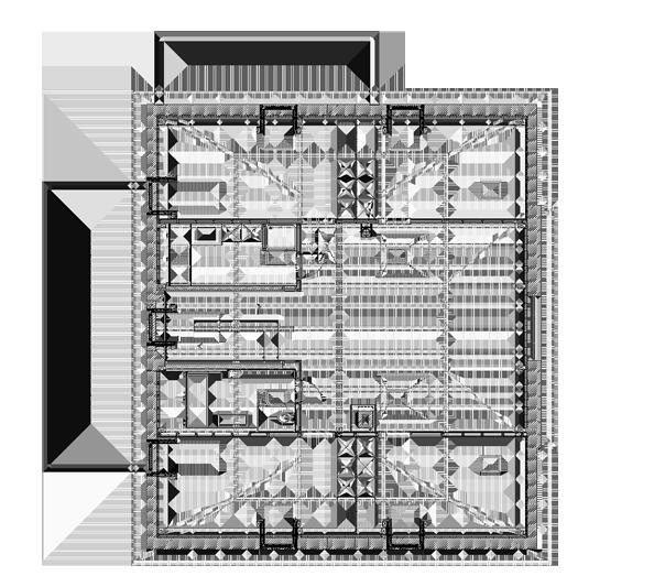 Grundriss Dachgesschoss