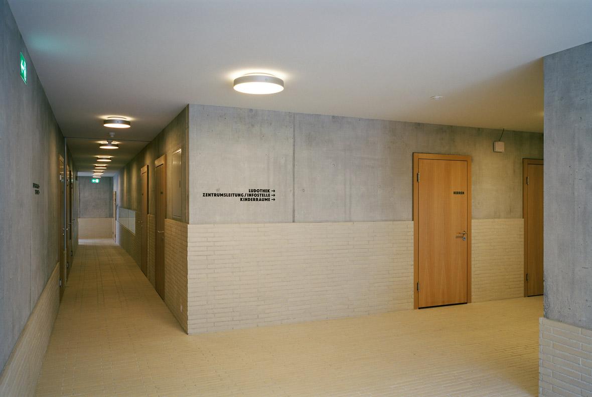 Korridore und Signaletik