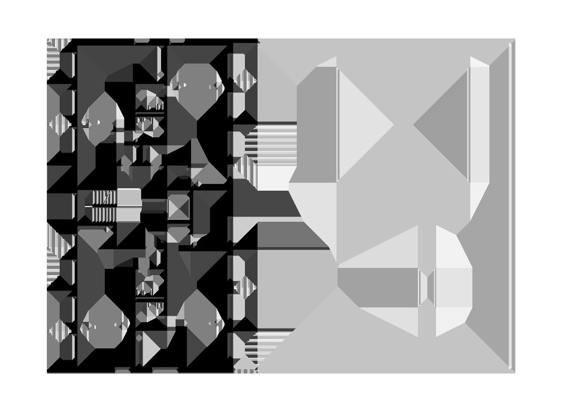Grundriss 2.Obergeschoss, Haus A
