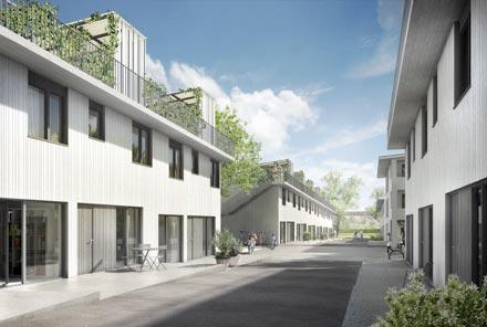 Wohnsiedlung Tram-/Funkwiesenstrasse