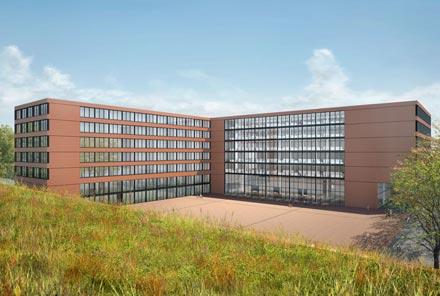 Neubau <br/>Verwaltungsgebäude