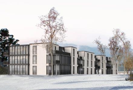 Wohnüberbauung BGZ