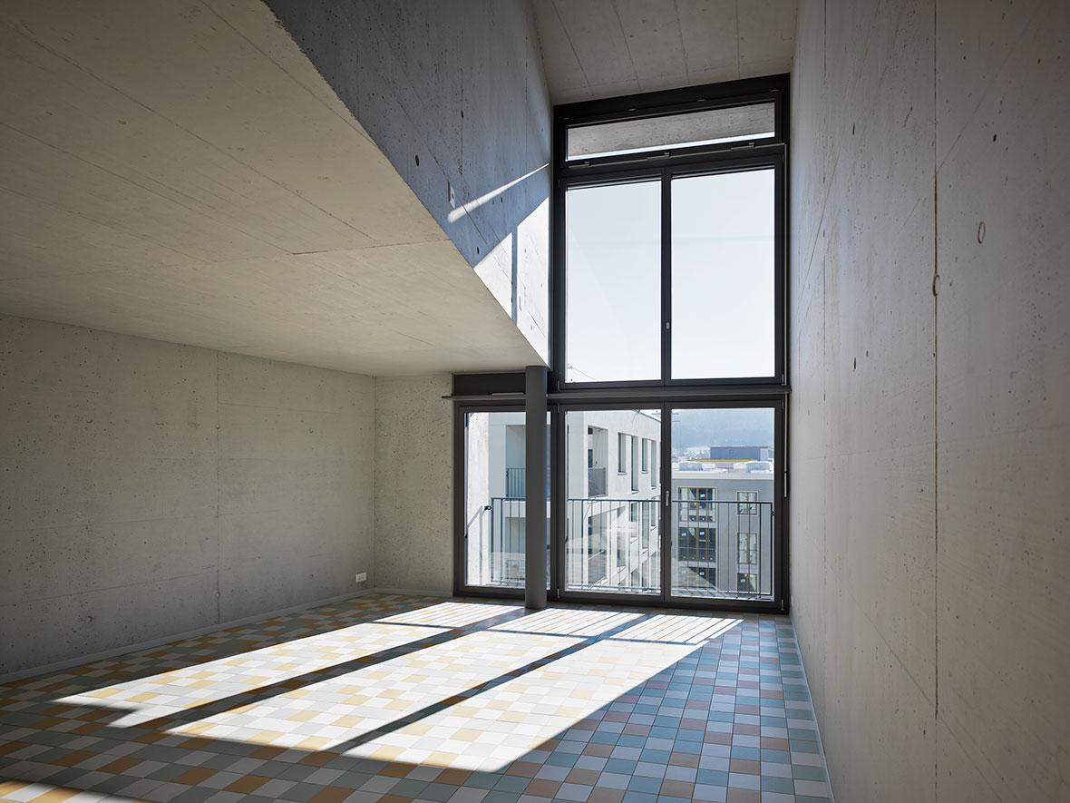 doppelgeschossiger Wohnraum
