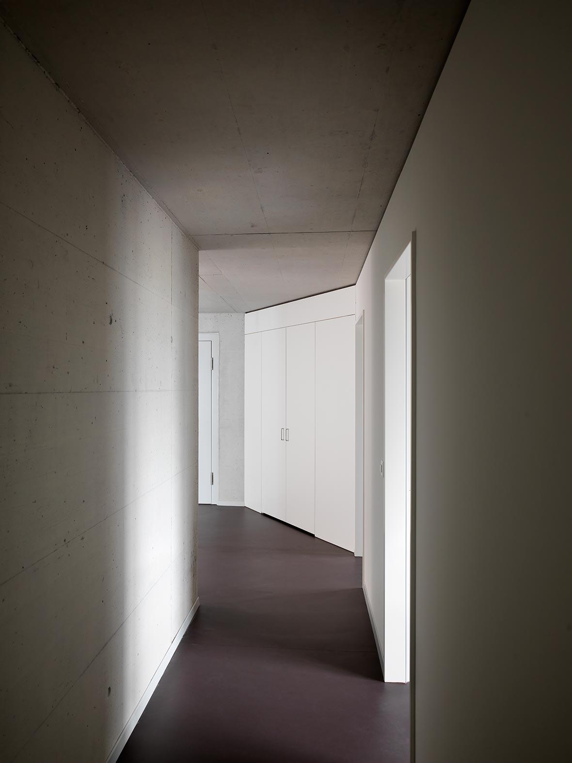 Korridor 4.5-Zimmer-Wohnung