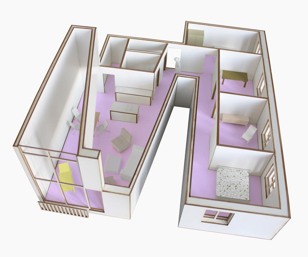 Haus G Modell Wohnung