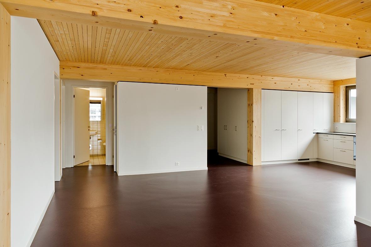 5.5-Zimmer Wohnung, Ecke Nordwest