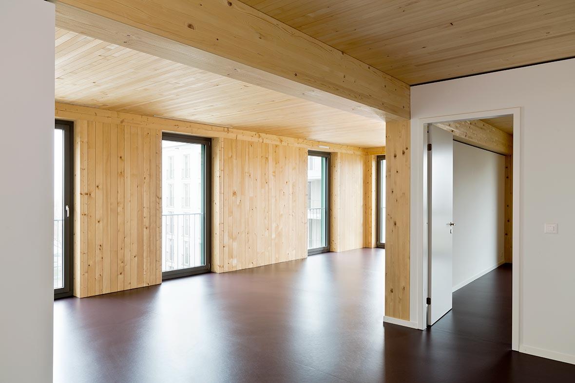 4.5-Zimmer Wohnung, Ecke Nordost