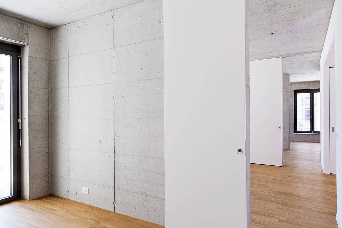 Atelierwohnung Sockelgeschoss