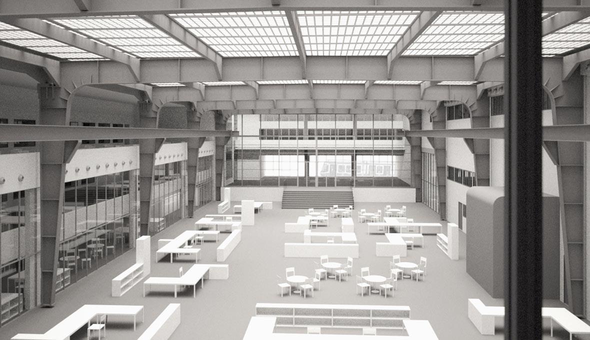 Maschinenlabor-Halle