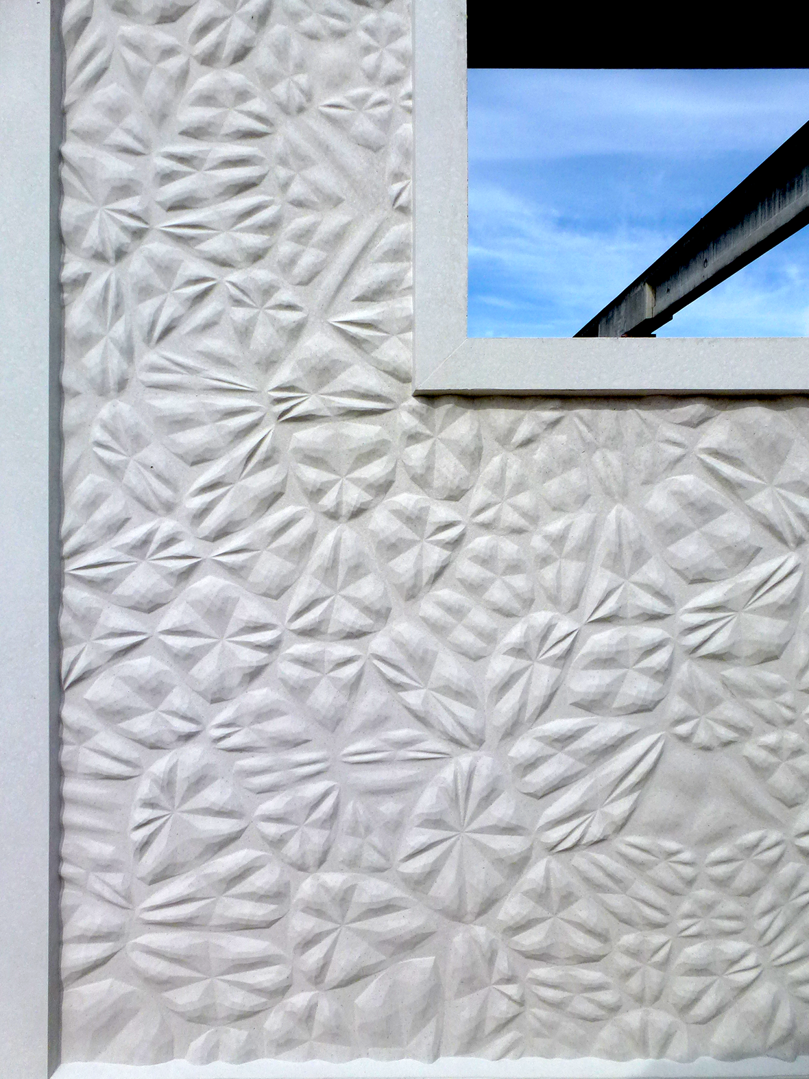 Detail Fassadenelemente