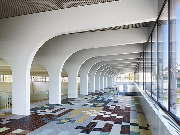 Mehrzweckhalle Wetzikon Pool Architekten Z 252 Rich