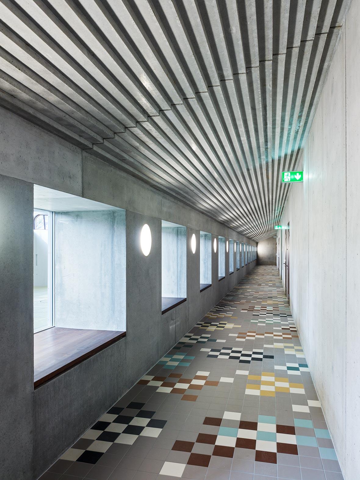 Korridor Garderoben