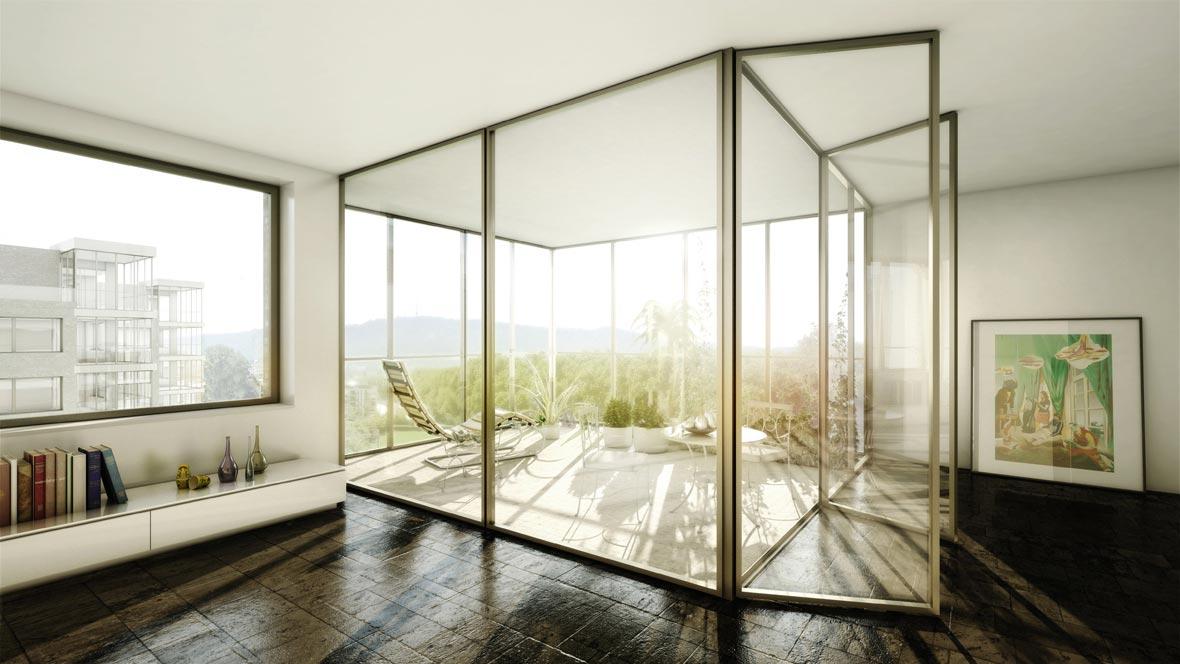 Loggia Bilder perspektive loggia pool architekten zürich