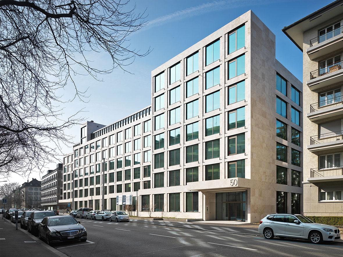 Alfred-Escher-Strasse Perspektive Nord
