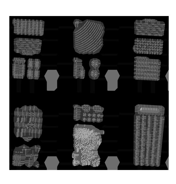 Varianten Möblierung
