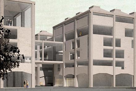 Hôtel industriel d'entreprises