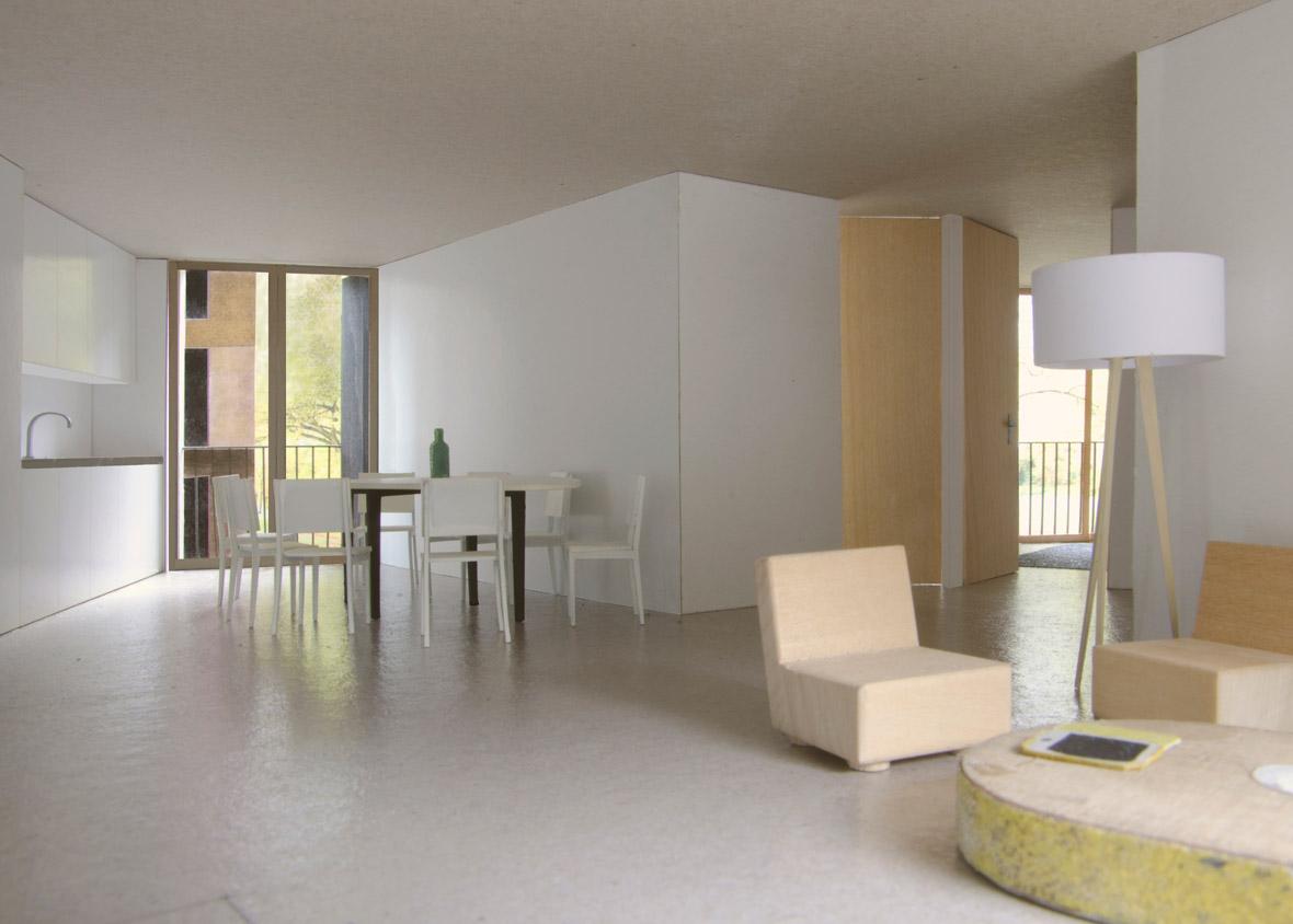 Modell Wohnung 1