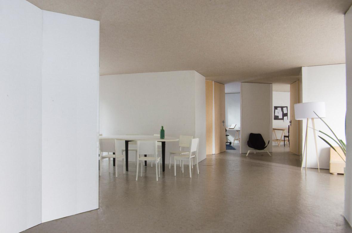 Modell Wohnung 2