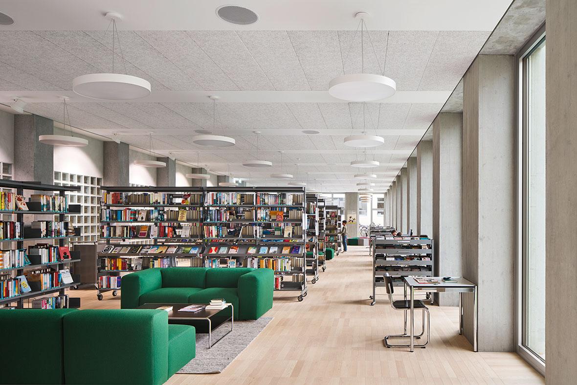 Bibliothek Erdgeschoss