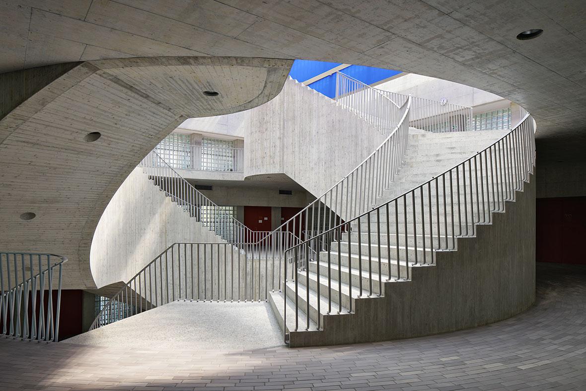 Treppenanlage Obergeschoss