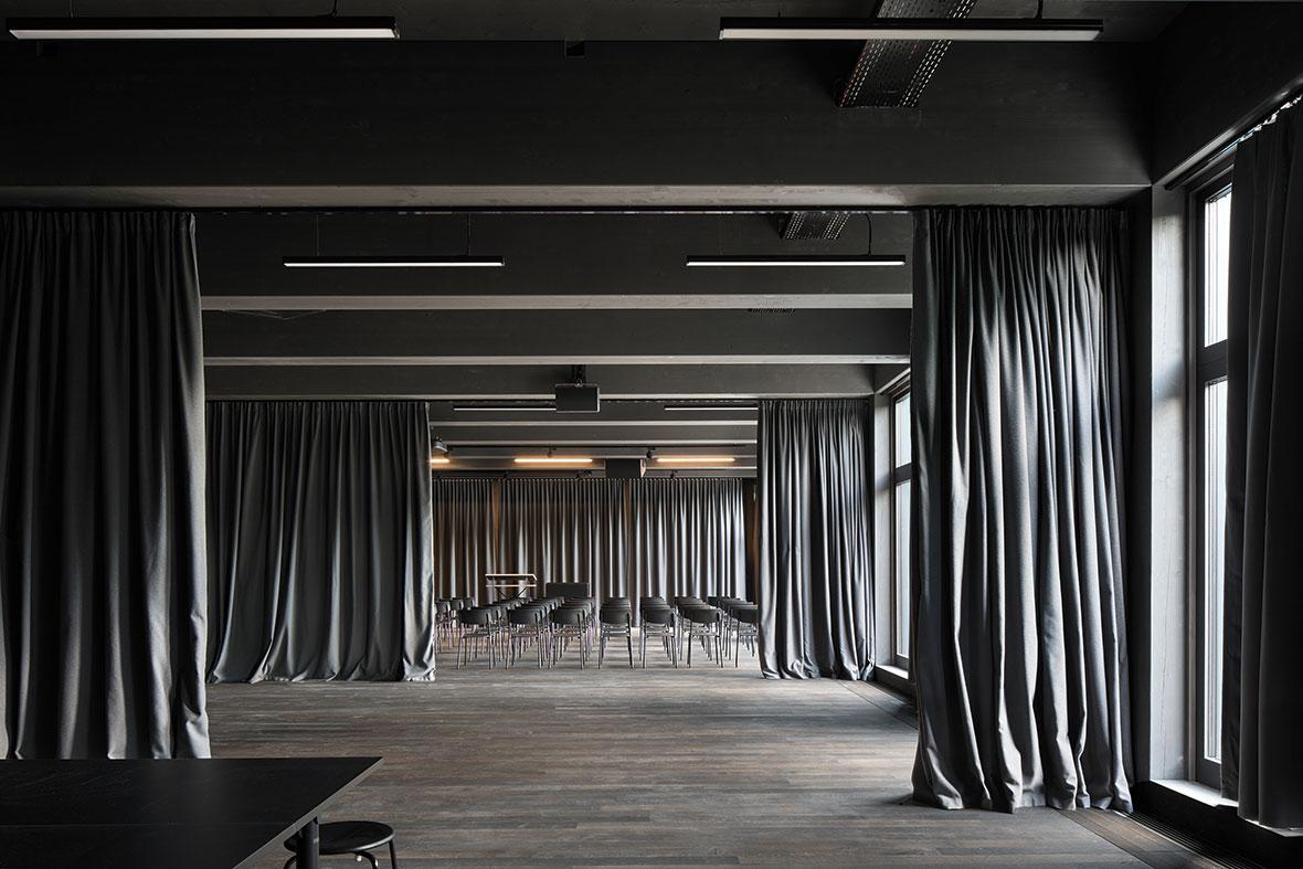 Räume für Veranstaltungen im Erdgeschoss