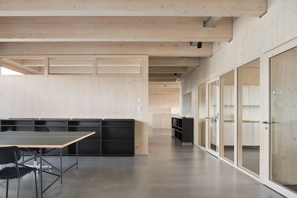 Büroräume im Obergeschoss