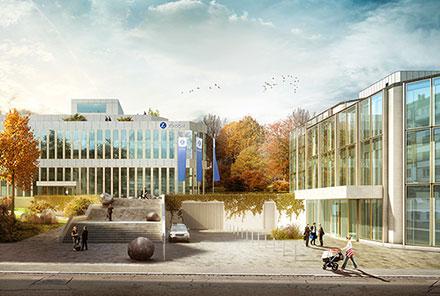 Bürogebäude Austrasse