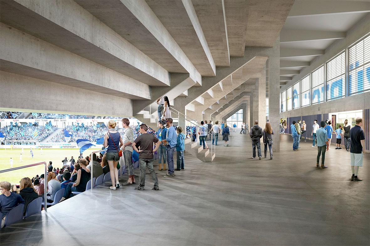 Stadion Tribüne