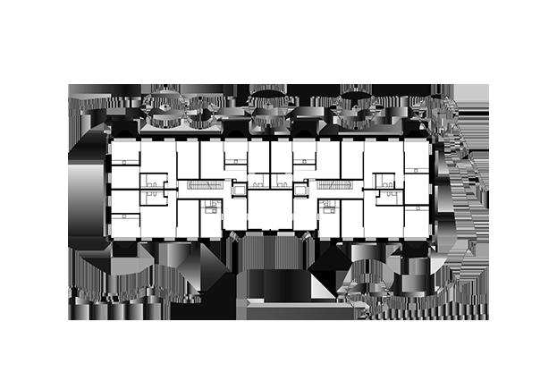 Haus im Garten, Erdgeschoss