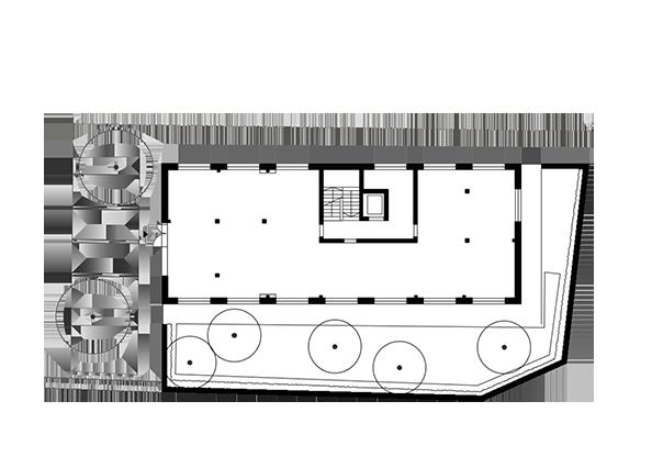 Haus an der Mauer, Erdgeschoss