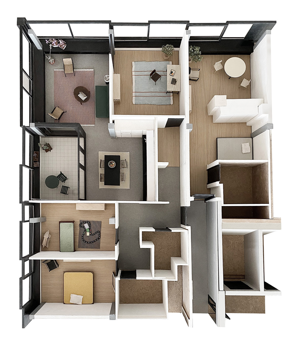 Modell Wohnung