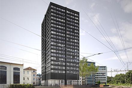 Hochhaus Baden Ost