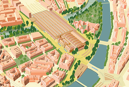Masterplan HB/Central 2050