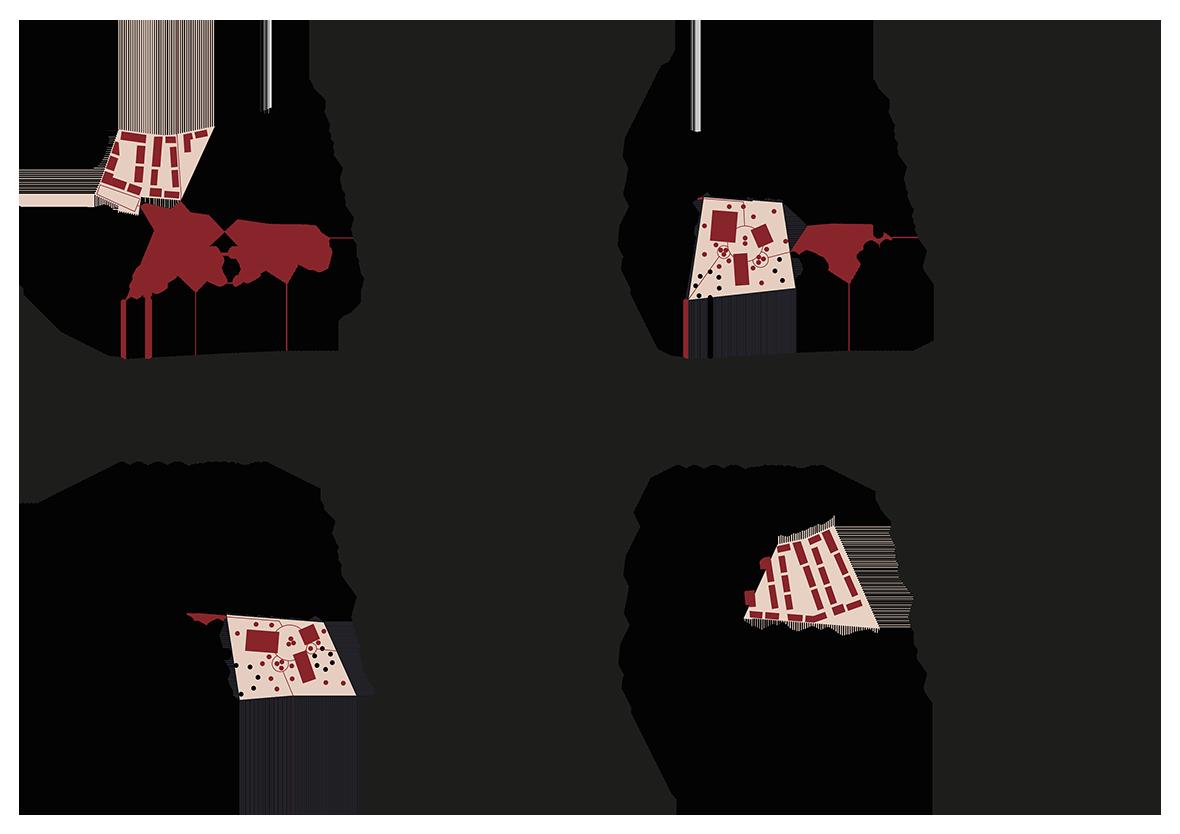 Piktogramm Etappierung