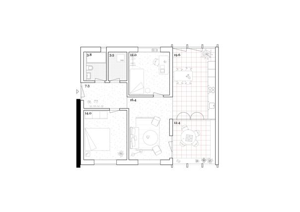 Wohnung Haus A Eco 3.5