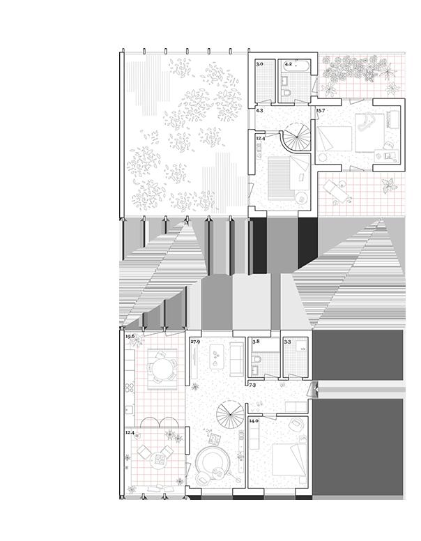 Wohnung Haus A Maisonette 4.5