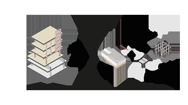 Baustruktur