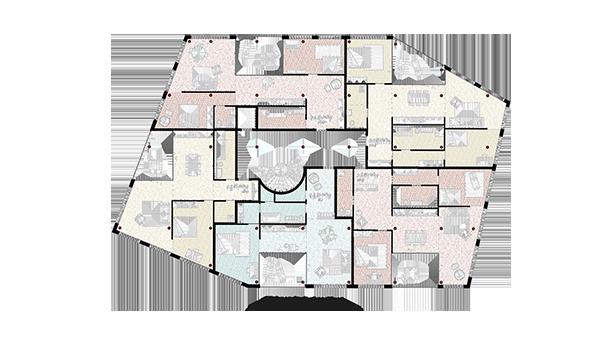 Grundriss Hohes Haus